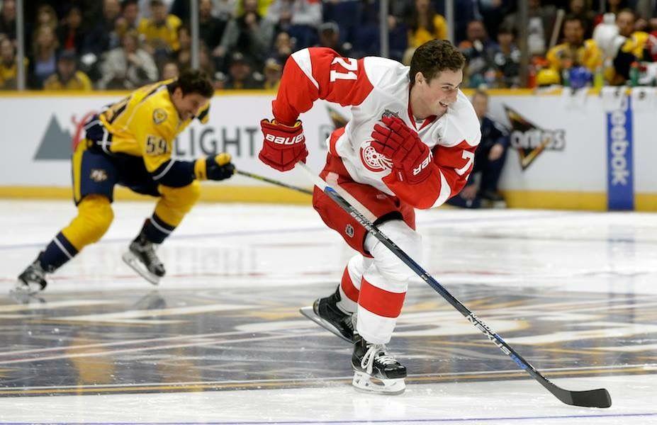 Dylan Larkin, NHL's fastest skater Red wings, Detroit