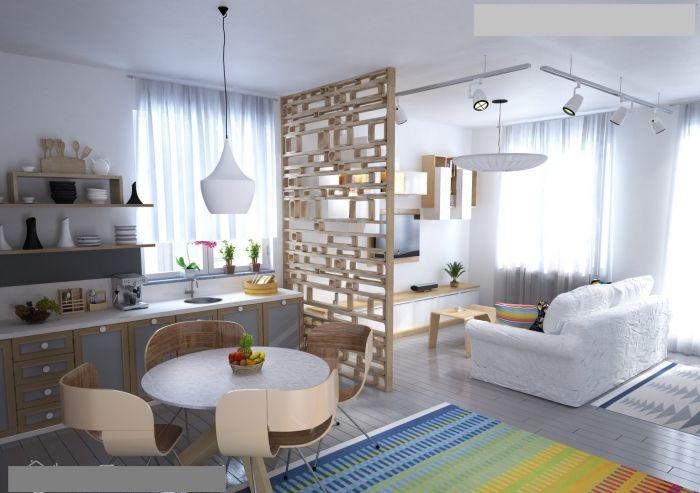 Kuche Esszimmer Wohnzimmer In Einem Raum Einrichtungsideen Fur Kleine Raume Wohnzung Einrichten Home Decor Home Decor