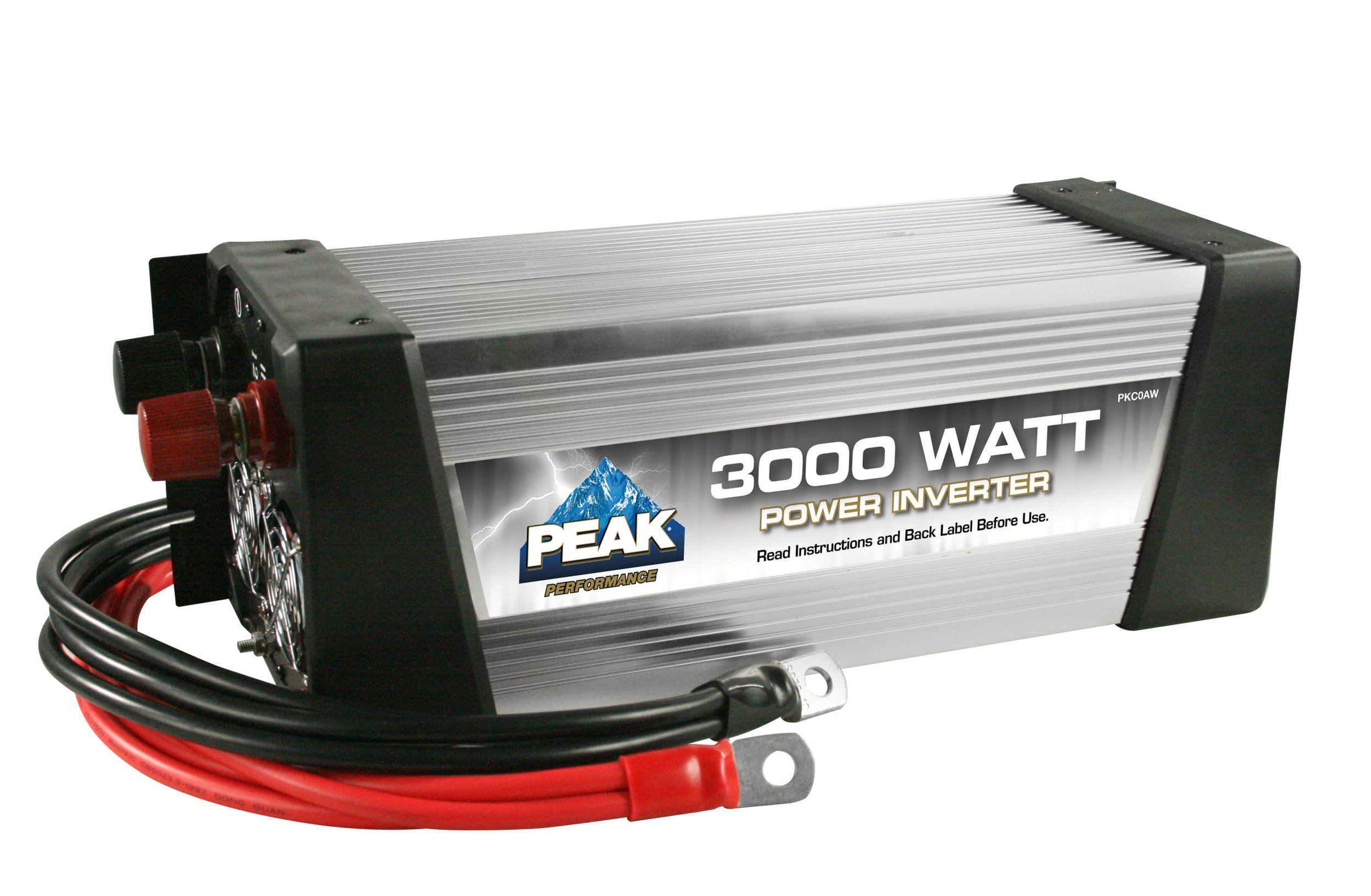 Amazon com: Peak PKC0AW 3000-Watt Power Inverter: Automotive