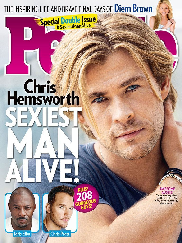 Sexiest man alive list 2014