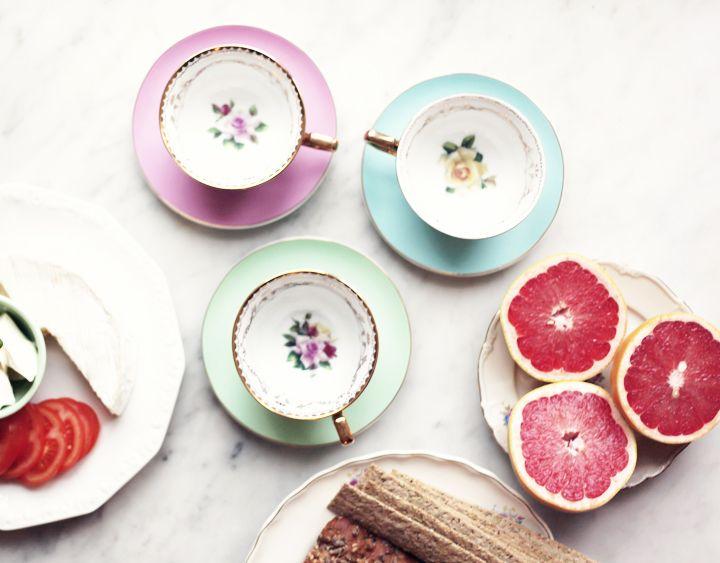 So cute tea cups.