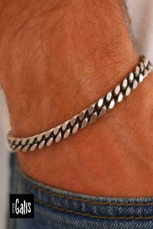 Bloodstone and Thai Silver Bracelet  Boho Jewelry  Layering Bracelet  Dragon Bloodstone  Men/'s Jewelry  Unisex Jewelry  Thai Silver Charm
