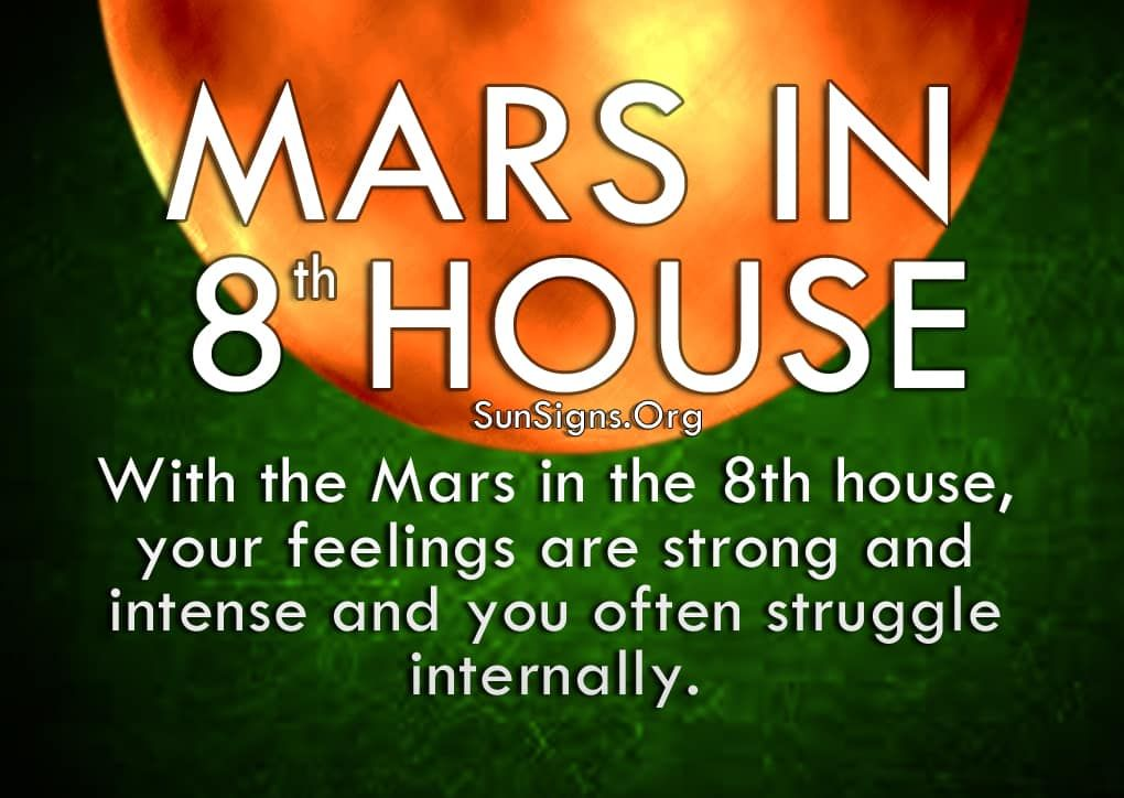 Mars In 8th House Meaning And Significance Astrologi