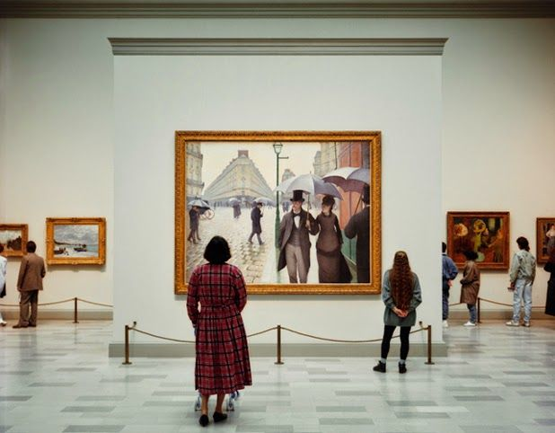Museum Photographs Series By Thomas Struth Art Institute Of Chicago Museum Photography Art History