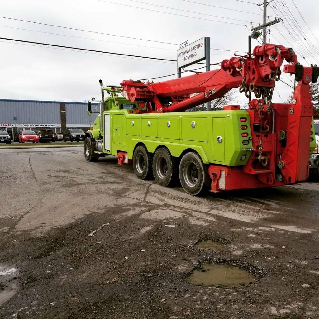 Metro Tow Truck Rotator - Year of Clean Water