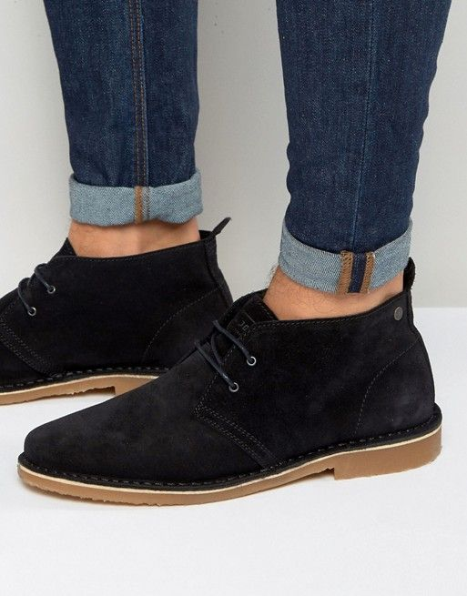 Zapatos negros Jack Jones para hombre AOXG1Q