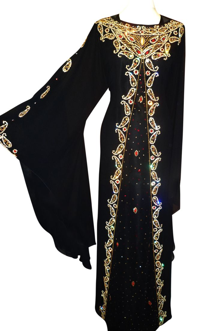 Wedding Party Wear Abaya