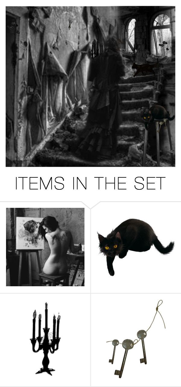"""THE BLACK WIDOW !!! for comp.."" by cathiemcnally ❤ liked on Polyvore featuring art"