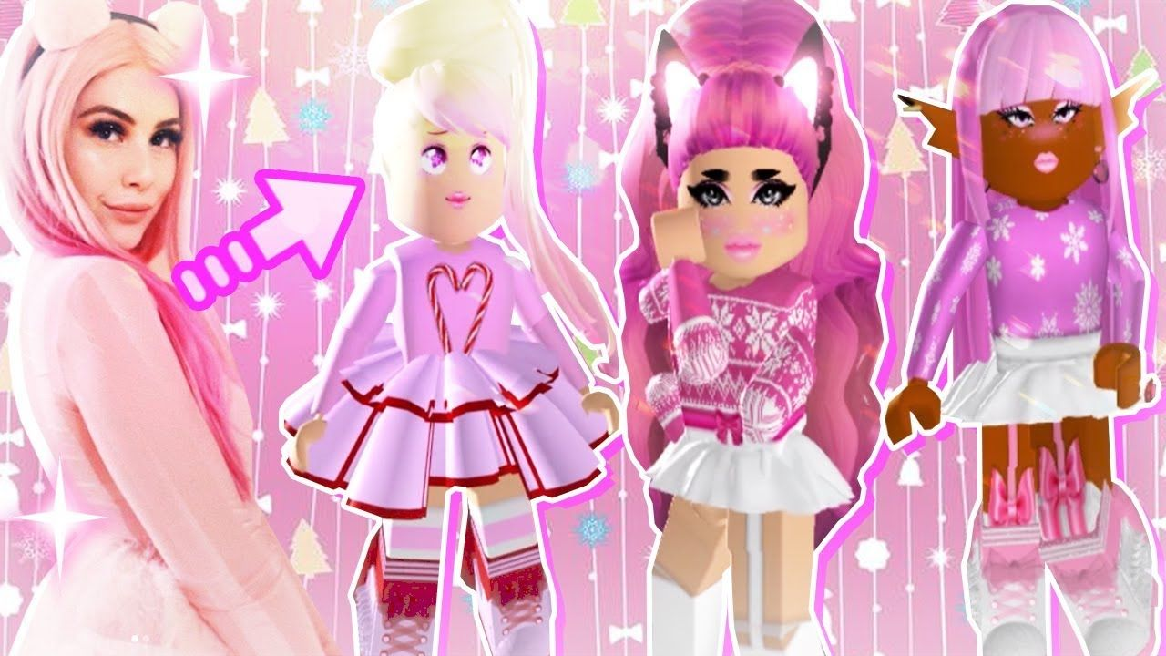 Making Outfits w/ LEAH'S CHRISTMAS COLLECTION in Royale High | leah