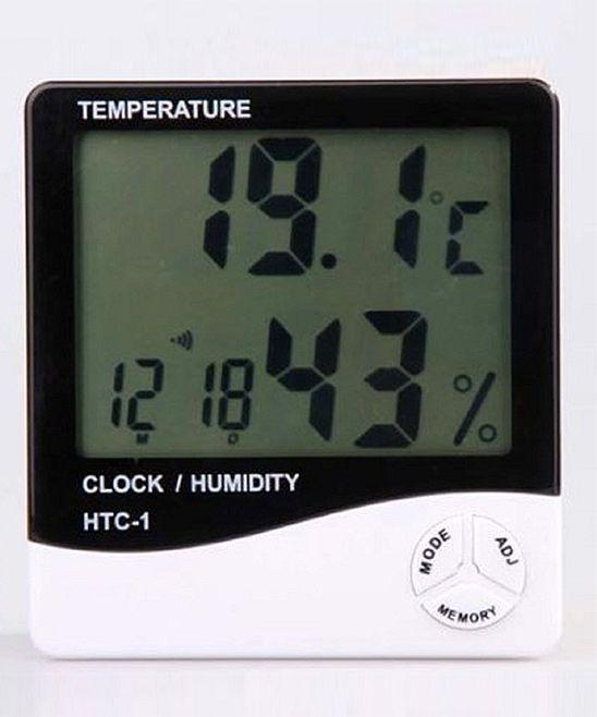 Hygrometer Unit Products Digital Alarm Clock Digital Clocks Digital Thermometer