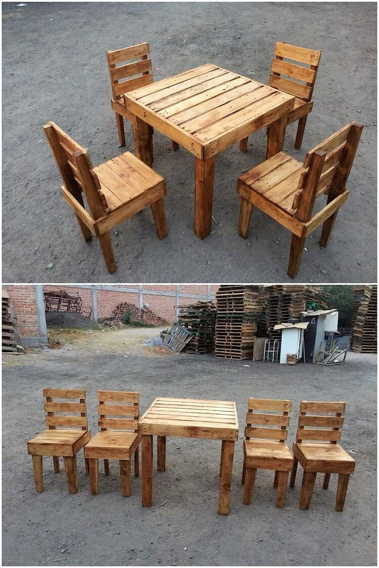 Brilliant Crafting Ideas With Recycled Pallets Wooden Pallet Projects Wood Pallet Furniture Rustic Outdoor Furniture