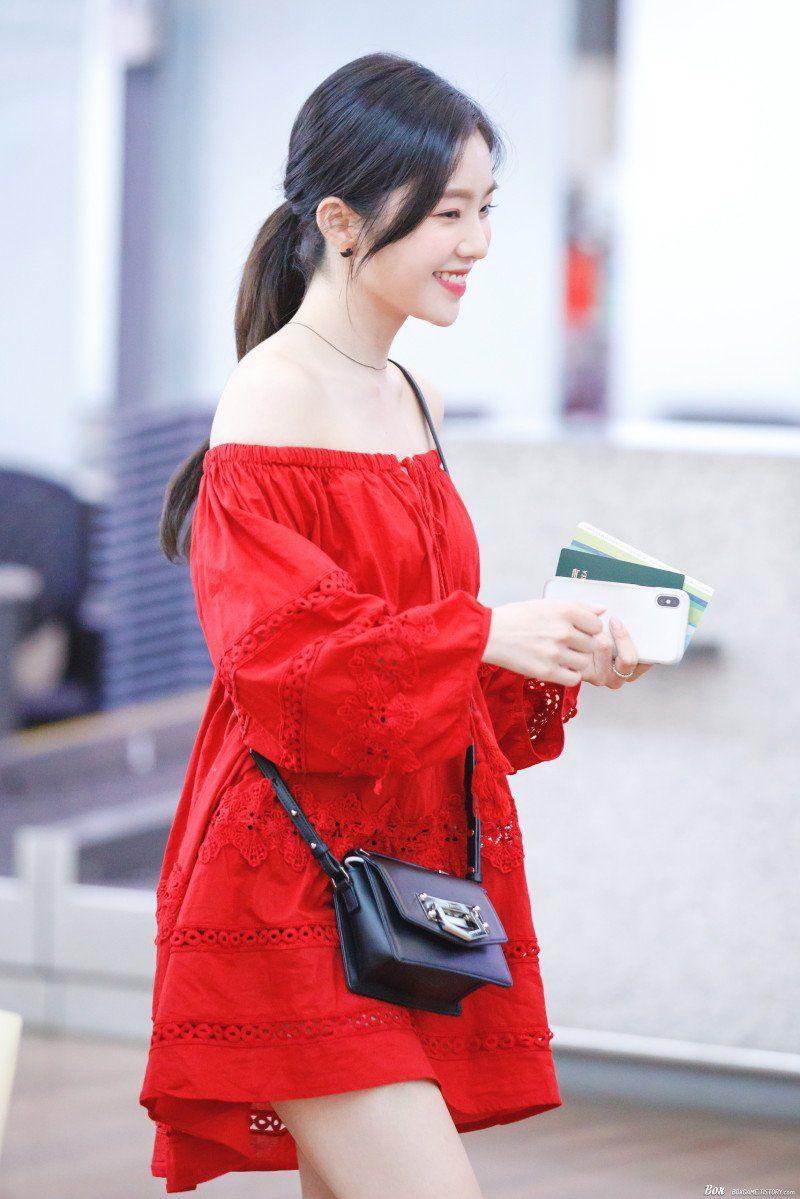 IRENE (아이린) NEWS on Twitter | Red velvet irene, Red velvet dress, Red dress