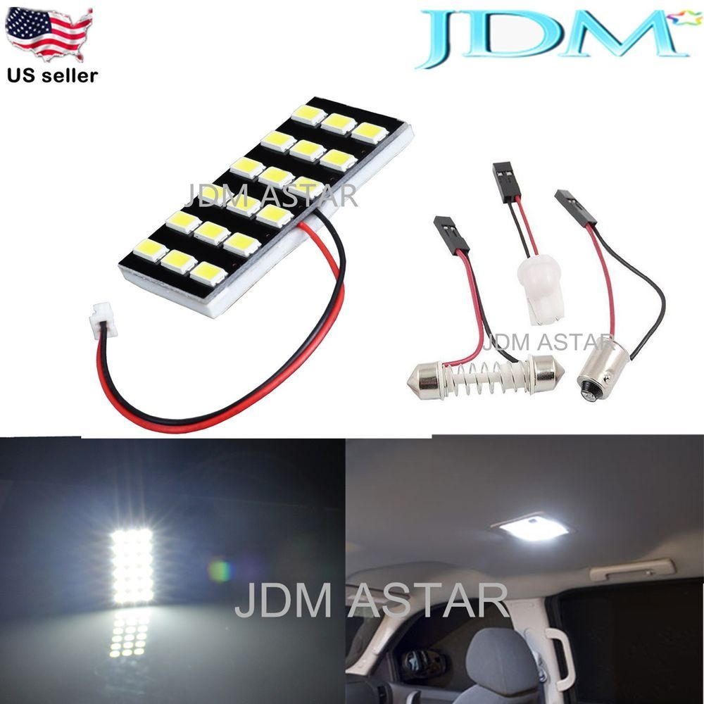 Jdm Astar 5630 Smd White Led Panel Dome Light Lamp T10 921