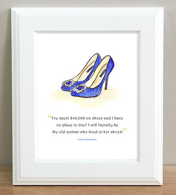 Sex and the city quotes on shoes