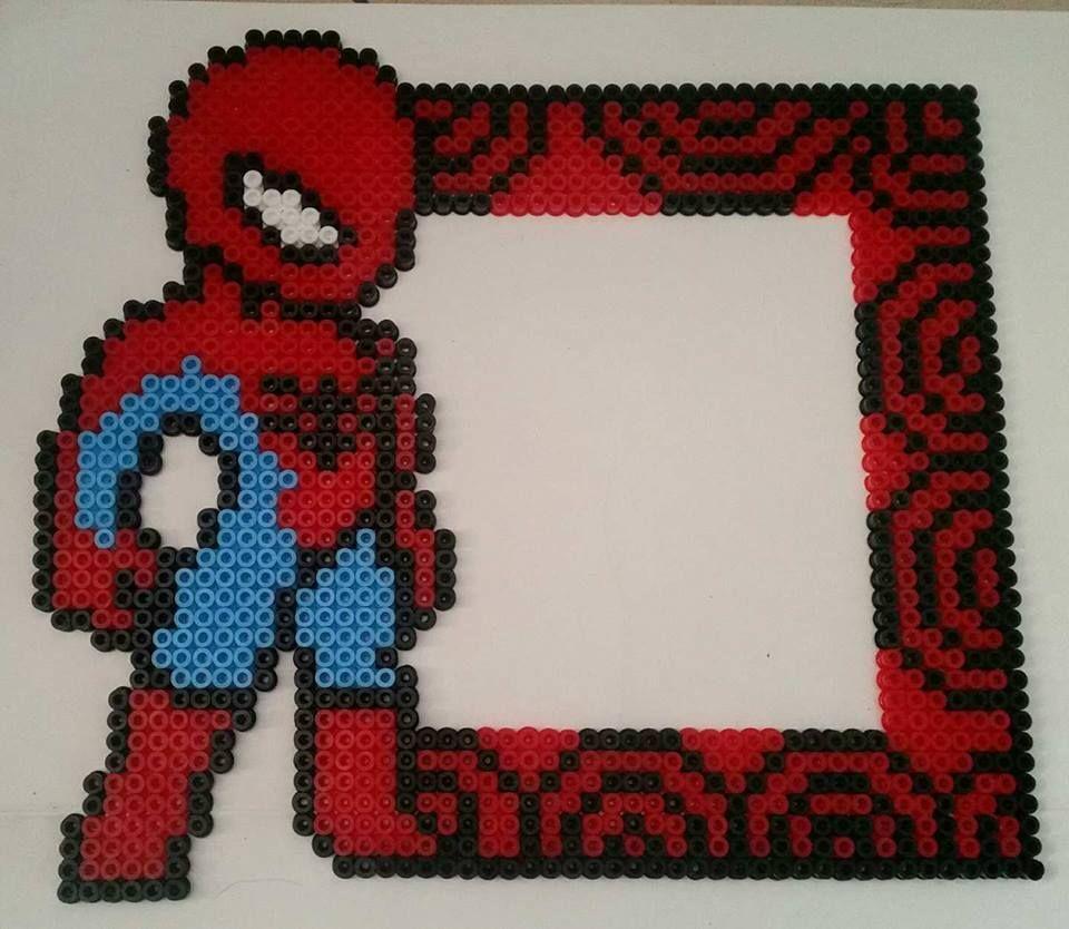Spiderman Bugelperlen Bugelperlen Vorlagen Bugelperlenvorlagen