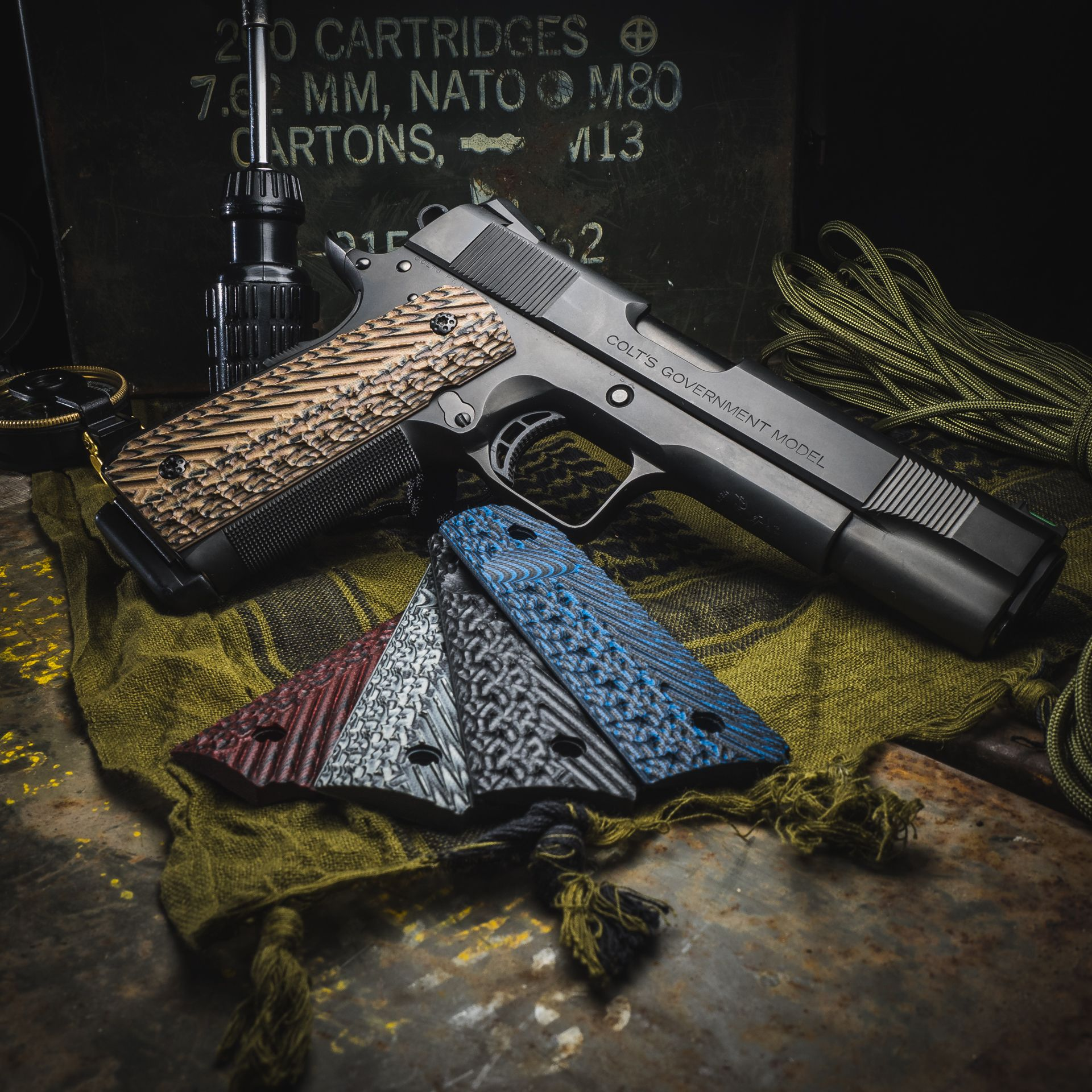 With a set of VZ Operator 3 grips from VZGrips you will have more