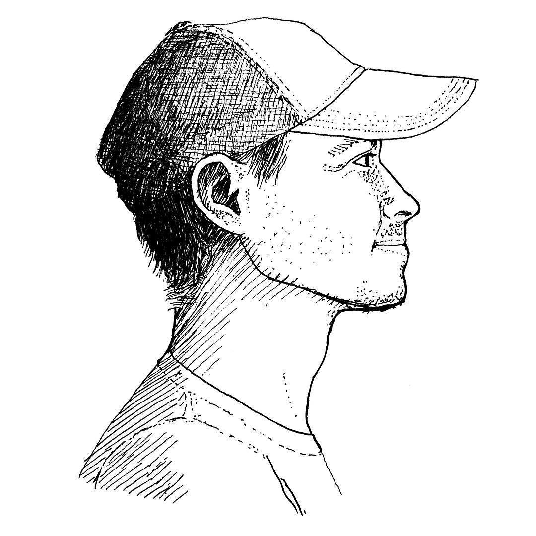 картинки голов с боку аккуратные