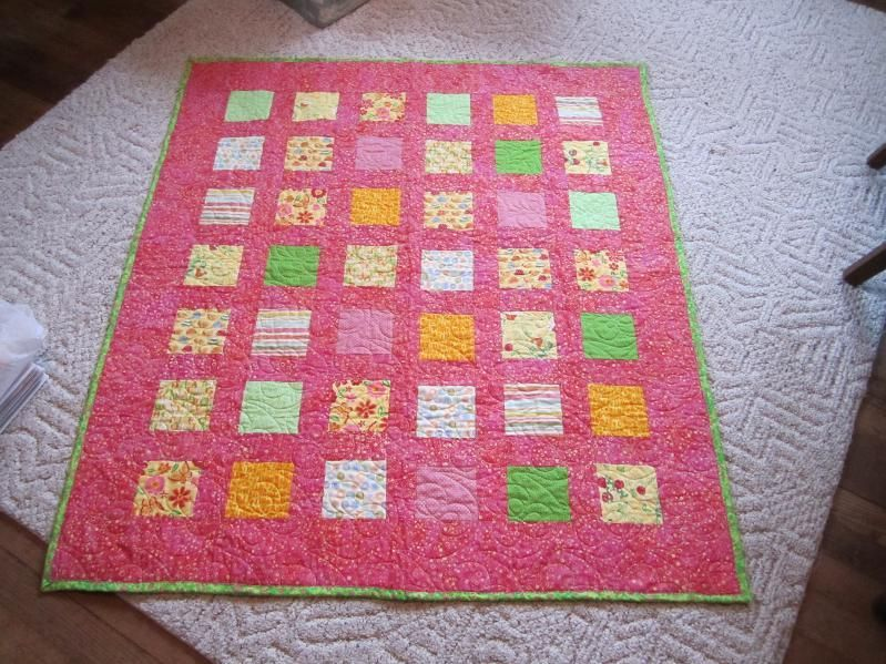 Patchwork bambini ~ Trapunta patchwork per bambini baby quilt fatto a mano puro