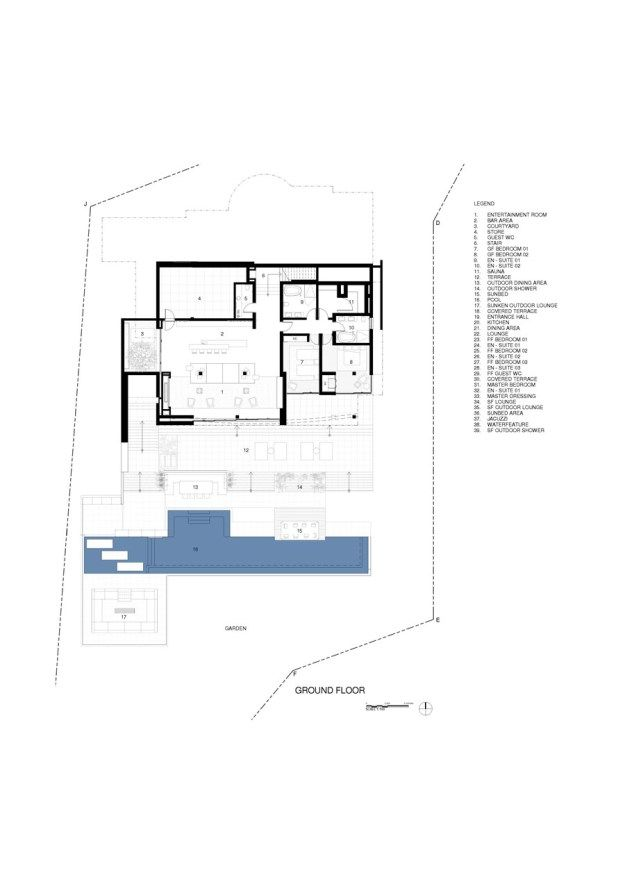 ROCA LLISA by SAOTA & ARRCC 23 Floor Plans Pinterest