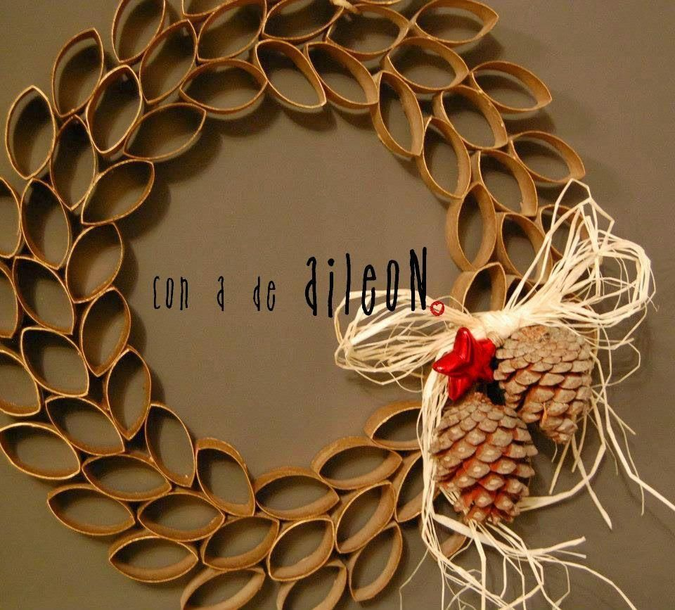 Coronas de navidad encuentra tu estilo manualidades - Coronas de navidad ...