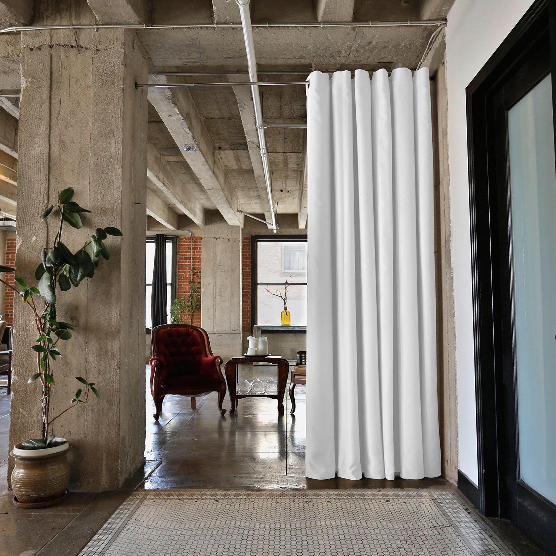 Amazon.com: RoomDividersNow Silver Tension Curtain Rod