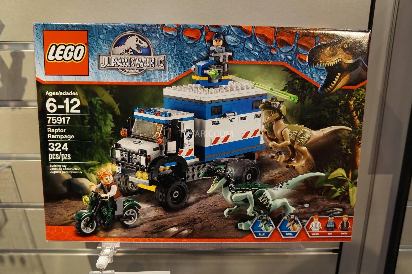 LEGO Jurassic World Raptor Rampage   Welcome to Jurassic Park ...
