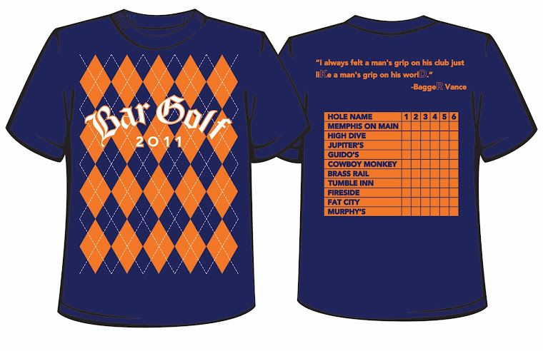 Next year's bar golf shirts?  for the caddies of course! :)