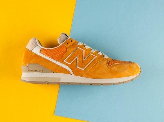 996 new balance orange