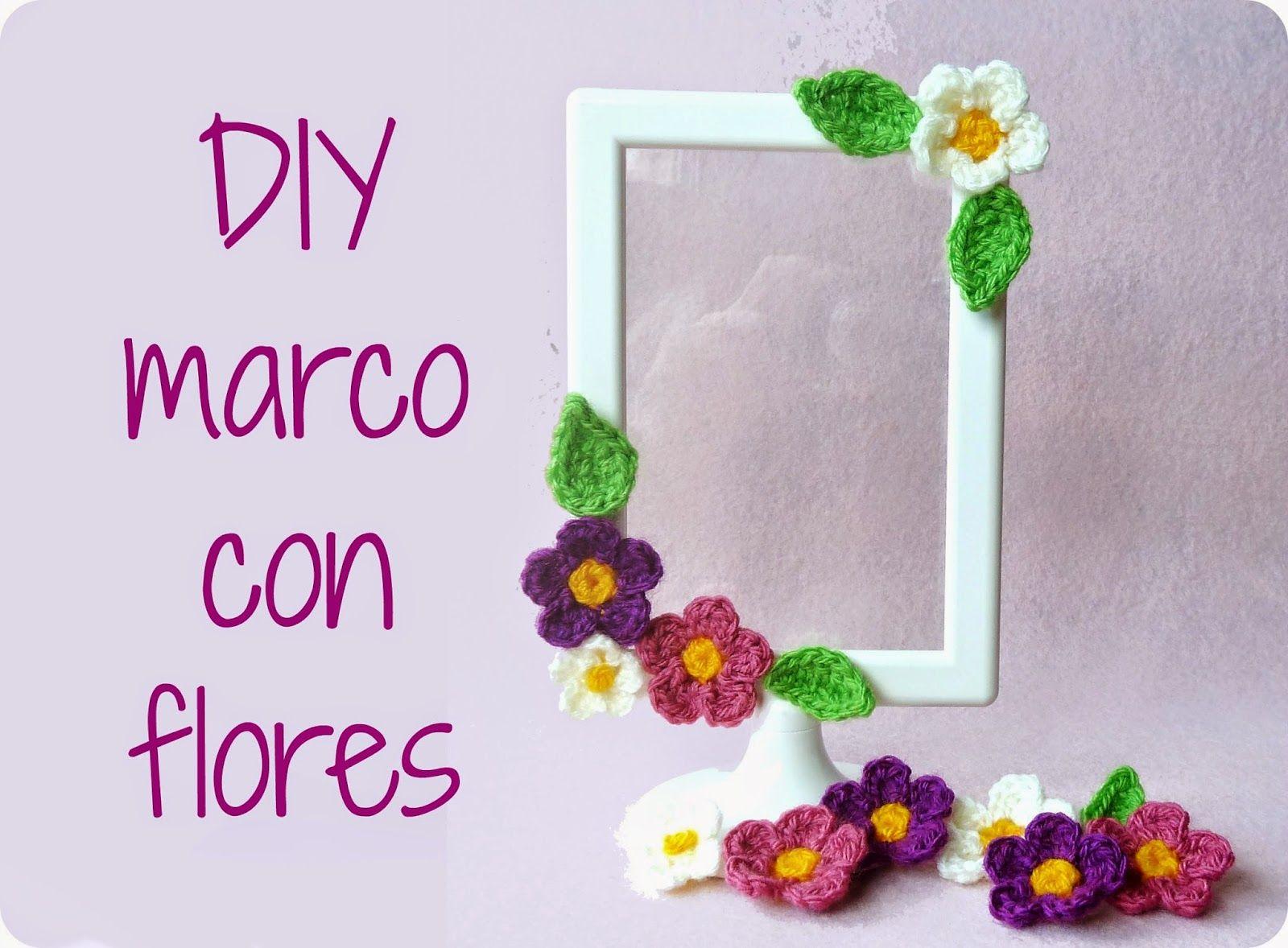 Mi mundo de baldosas amarillas: DIY Marco florecillas :) ❀ ✿ ❁ Flores, flores!! ❀ ...