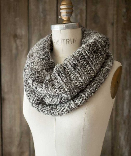 Last Minute Cowl Cascade Eco Version Free Pattern Free Knitting