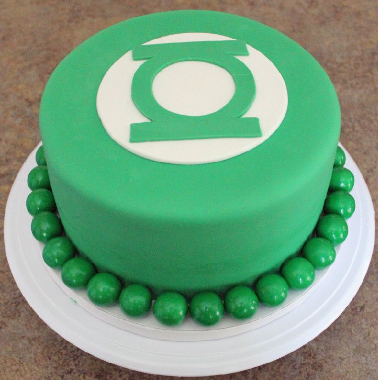 Green Lantern Cake Green Velvet Instead Of Red Velvet Requested By