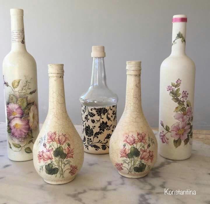 Pin de ayende clau en botellas recicladas pinterest for Envases de vidrio decorados