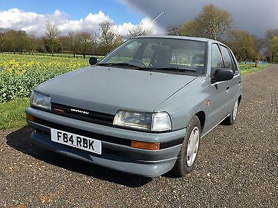 Ultra Rare 1989 Daihatsu Charade 1 0 Turbo G100 S R Grey No