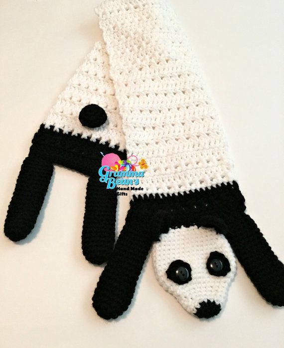 Silly Animal Scarves Crochet Pattern by grammabeans on Etsy | Gramma ...