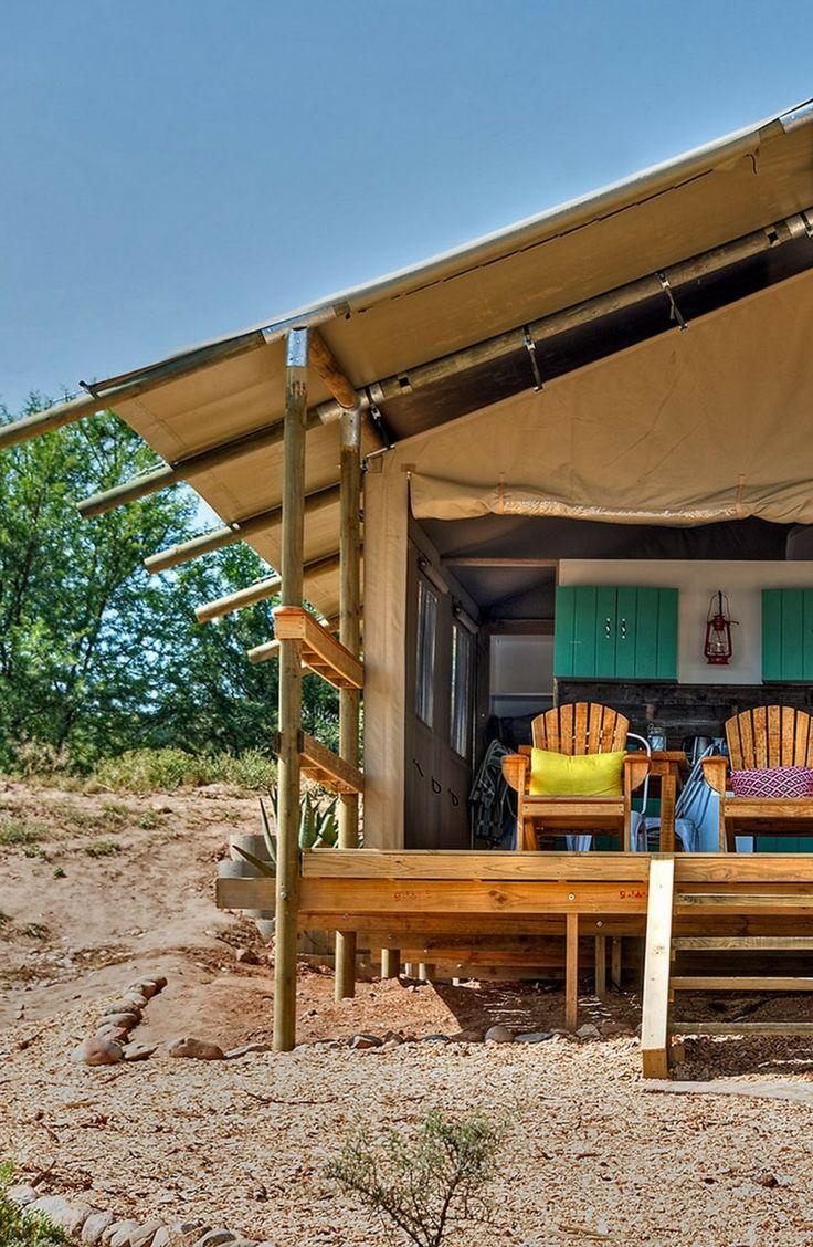 Deluxe South African Safari Tent Rentals in Oudtshoorn