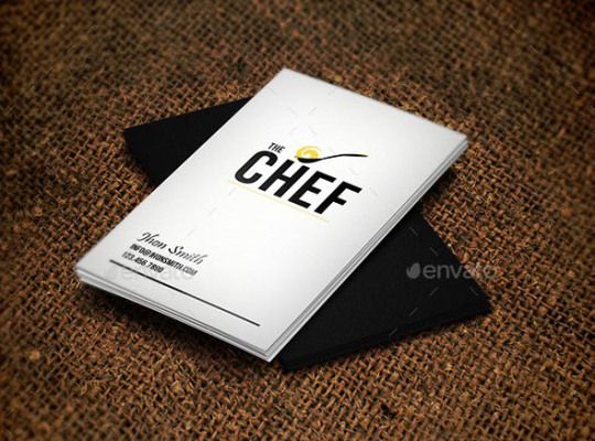 30 examples creative chef business card for inspiration 30 examples creative chef business card for inspiration smashfreakz reheart Gallery