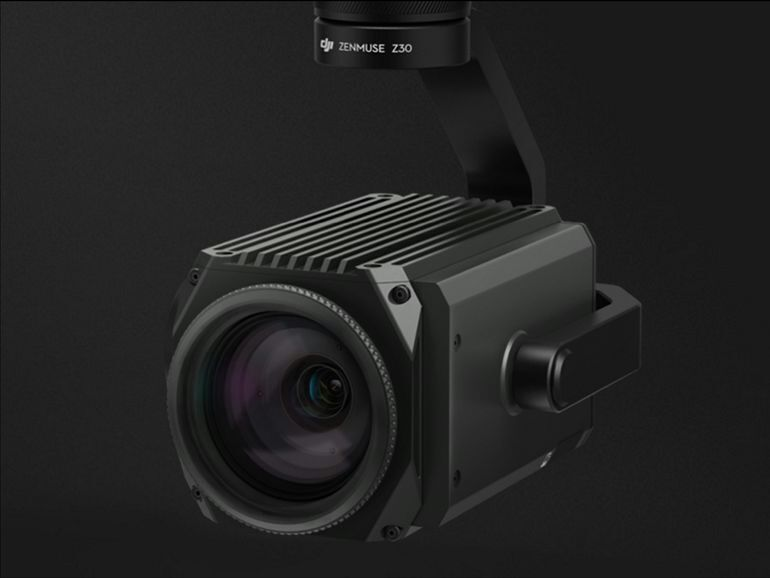DJI adds a 30x zoom lens to its commercial drones Zoom