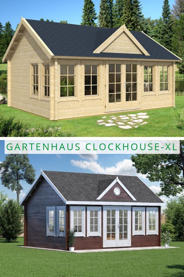 Gartenhaus Modell Clockhouse Xl Gartenhaus Haus Holzgartenhaus
