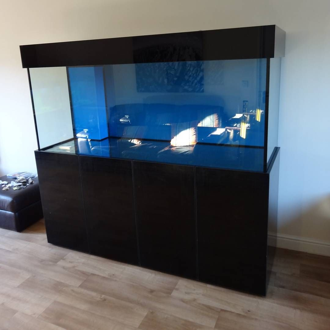 Marine Aquarium 72x30x24 With Weir And Sump Tank From