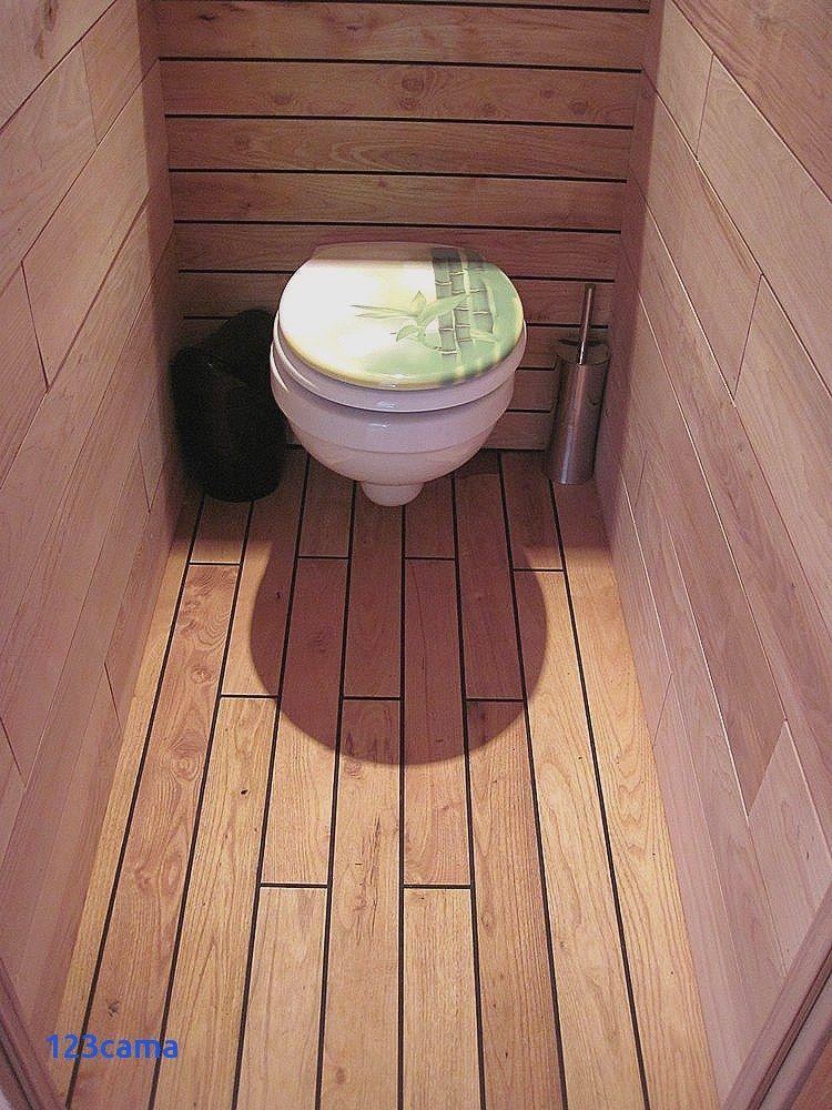 WC 2 Carrelage imitation teck pont de bateau | Deco salle de bain, Idée salle de bain, Carrelage