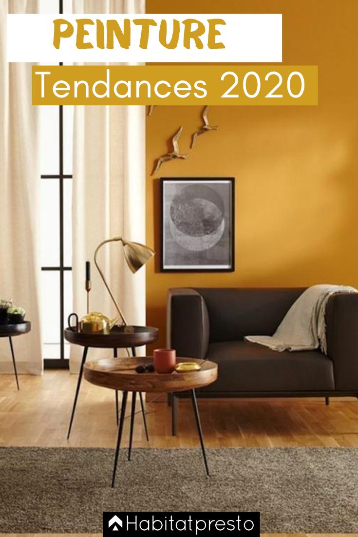 Quel Mur Peindre En Couleur Salon peinture intérieure : voici les 5 couleurs tendances en 2020