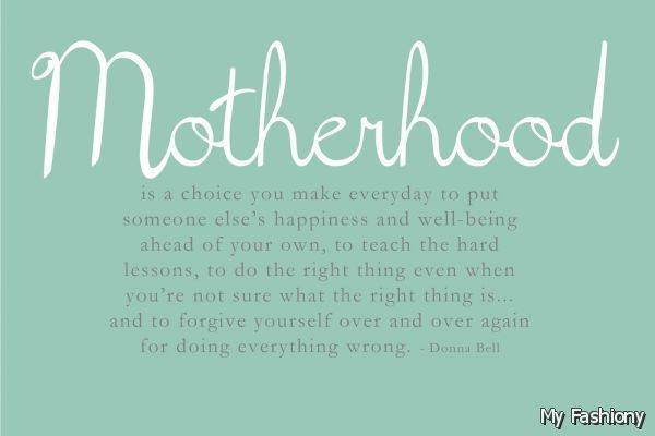 cute quotes about being a mom