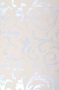 Medusa crema  Carta da parati degli anni '70  articolo n.: 950008