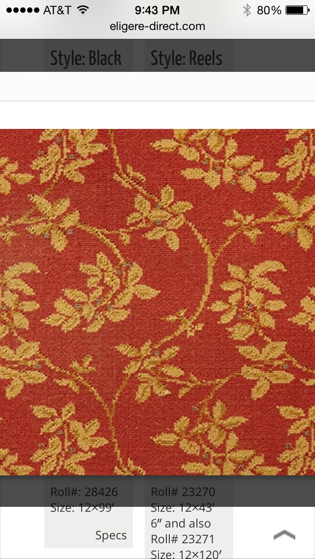 Wilton Carpet being sold by Eligére Direct. Please check out eligere-direct.com