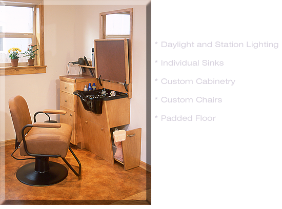 Small Space Hair Salon Ideas | For More Information Or To Have A Personal  Tour,