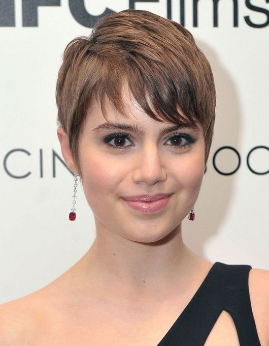 31 Celebrity Hairstyles For Short Hair ピクシーカット ヘア