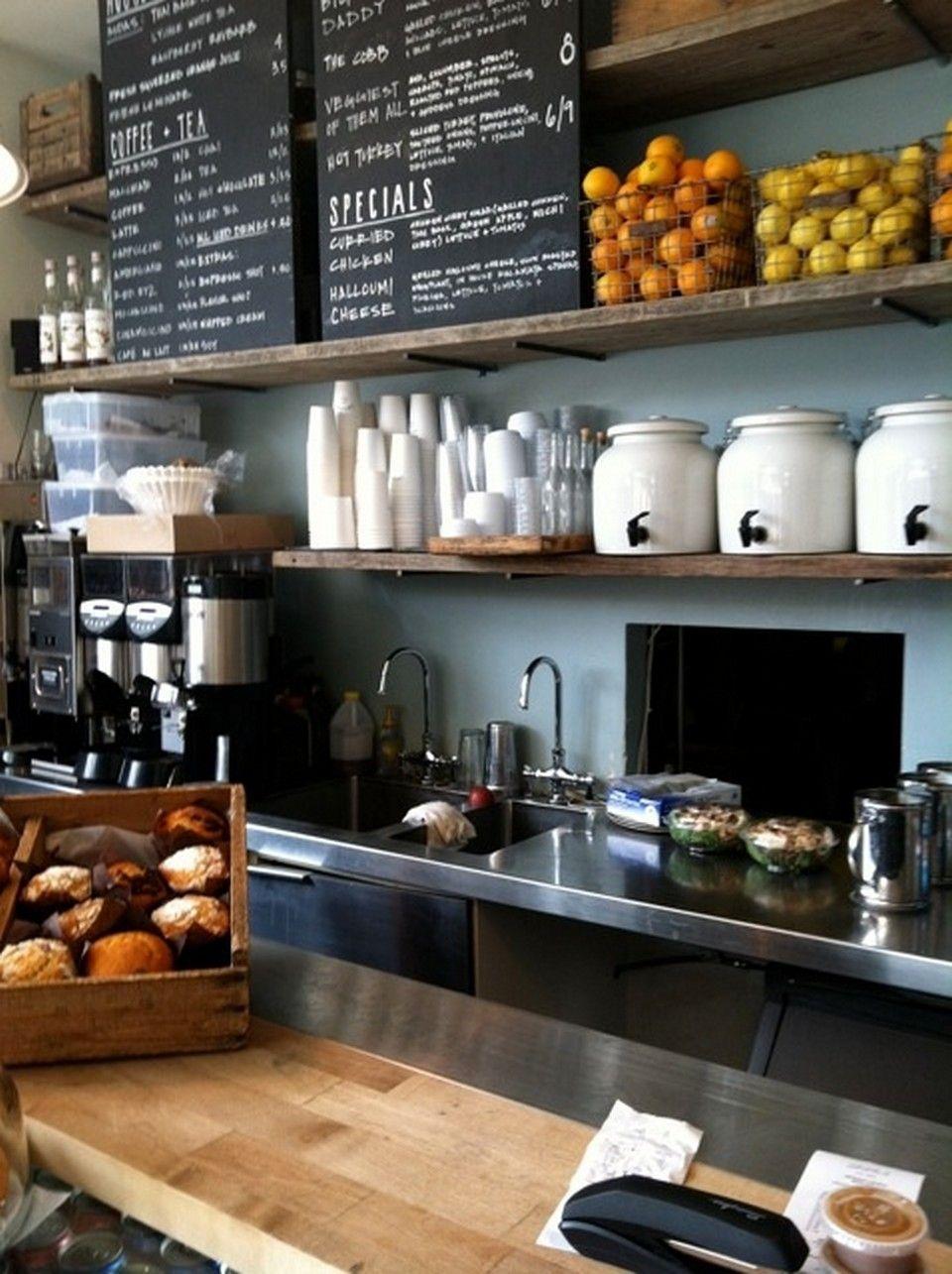 55+ Awesome Small Coffee Shop Interior Design   Small ...