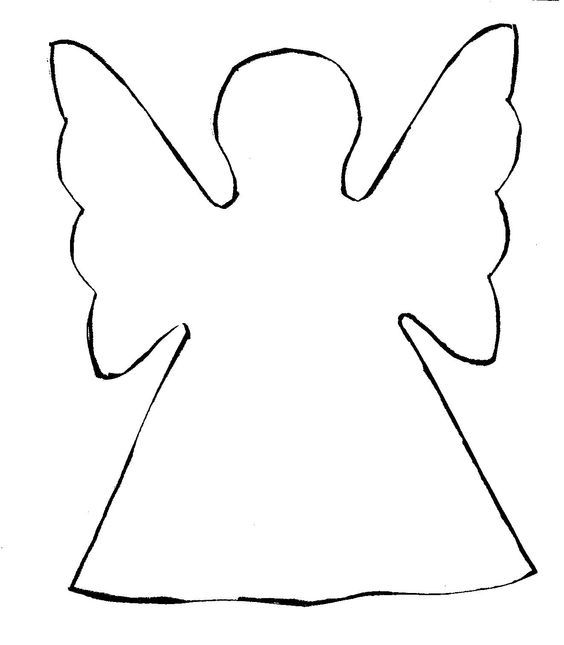Christmas Angel Crafts Projects Templates Printables Art