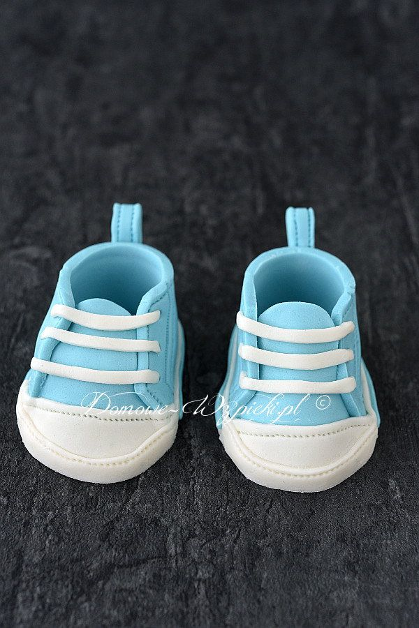 Buciki Na Tort Z Masy Cukrowej Recipe Baby Shoes Shoes Fondant