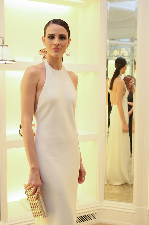 dcff3ffb591f2 Fernanda Tavares at the VIP Ralph Lauren Brazil cocktail event in Sao Paulo  celebrating the opening of Ralph Lauren s luxury collections store